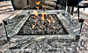 Oriflamme Mediterranean Rectangle Gas Fire Table