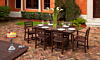 POLYWOOD La Casa Cafe 7-Piece Dining Set