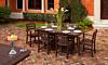 POLYWOOD La Casa Cafe 7-Piece Dining Set