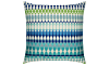 Elaine Smith Outdoor Modern Oval Ocean Pillow