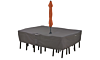 Outdoor Rectangle Dining Table and Chair Cover Set