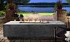 Prism Tavola 4 Concrete Fire Table
