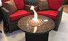 Oriflamme Fire Table Mini with Flame (Tropical Brown Granite)