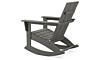 POLYWOOD Modern Adirondack Rocking Chair