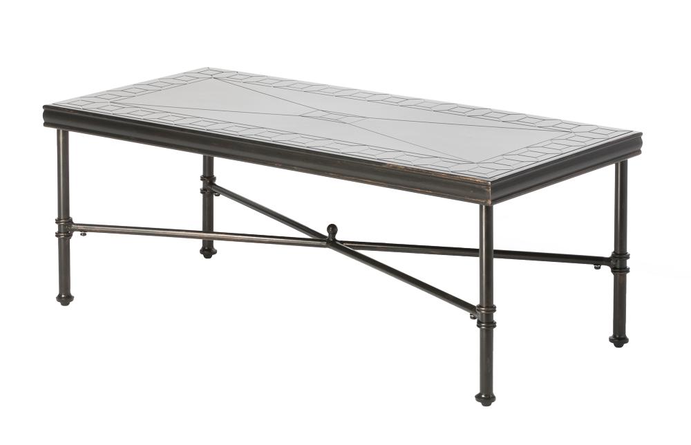 "Honeycomb 48"" Rectangular Outdoor Coffee Table"