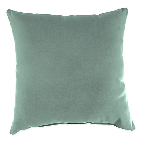 Canvas Spa Sunbrella Throw Pillow