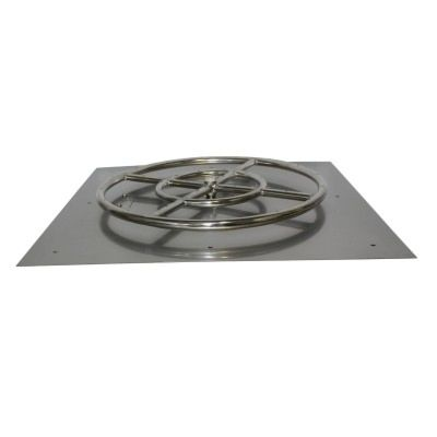 Square Flat Pan (With Burner)