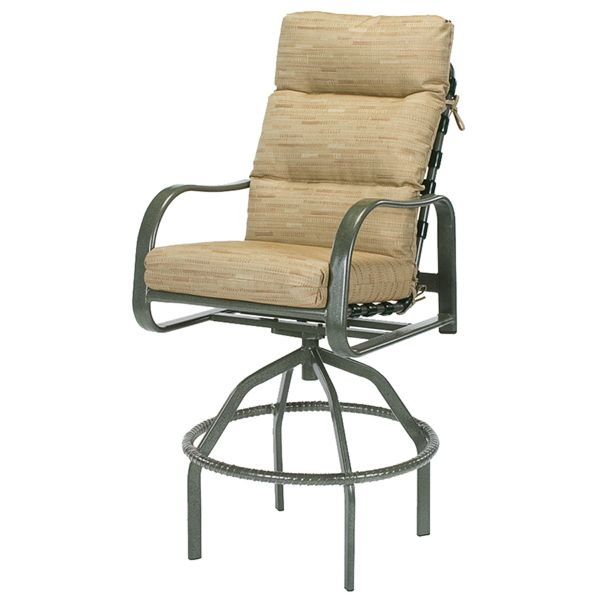 Sonata Deep Cushion Swivel Bar Chair