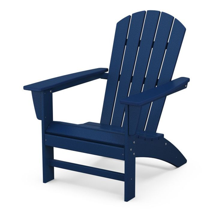 POLYWOOD Nautical Adirondack Chair
