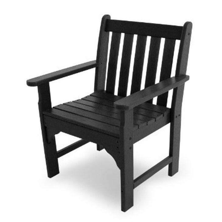 POLYWOOD Vineyard Garden Arm Chair