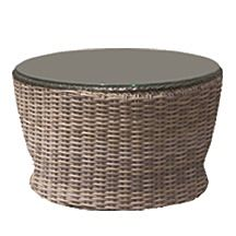 Bainbridge Wicker Round Chat Table