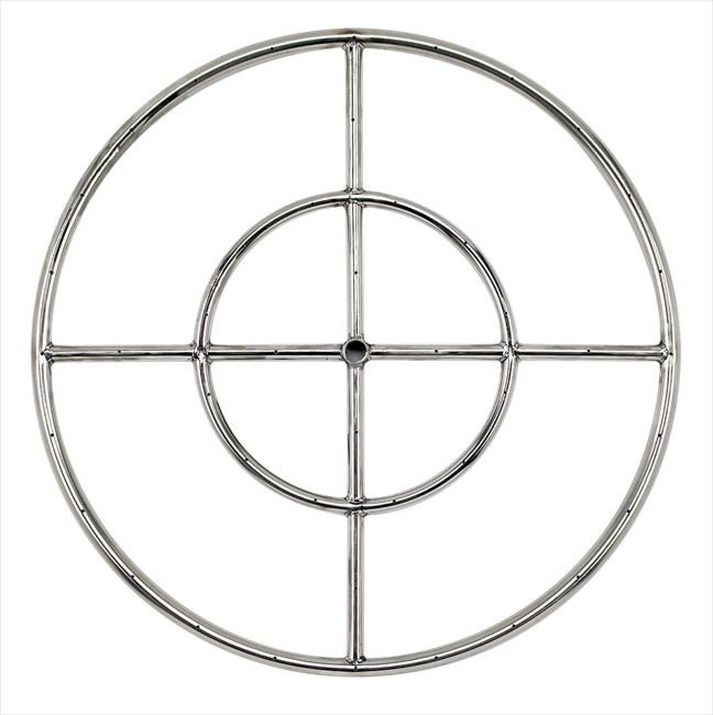 "18"" Stainless Steel Fire Pit Ring Burner"
