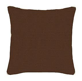 Canvas Bay Brown Sunbrella Throw Pillow