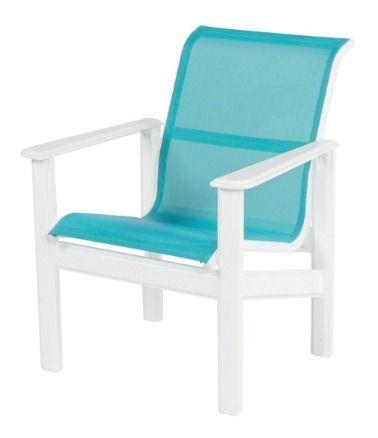 Hampton Sling Marine Grade Polymer Dining Arm Chair
