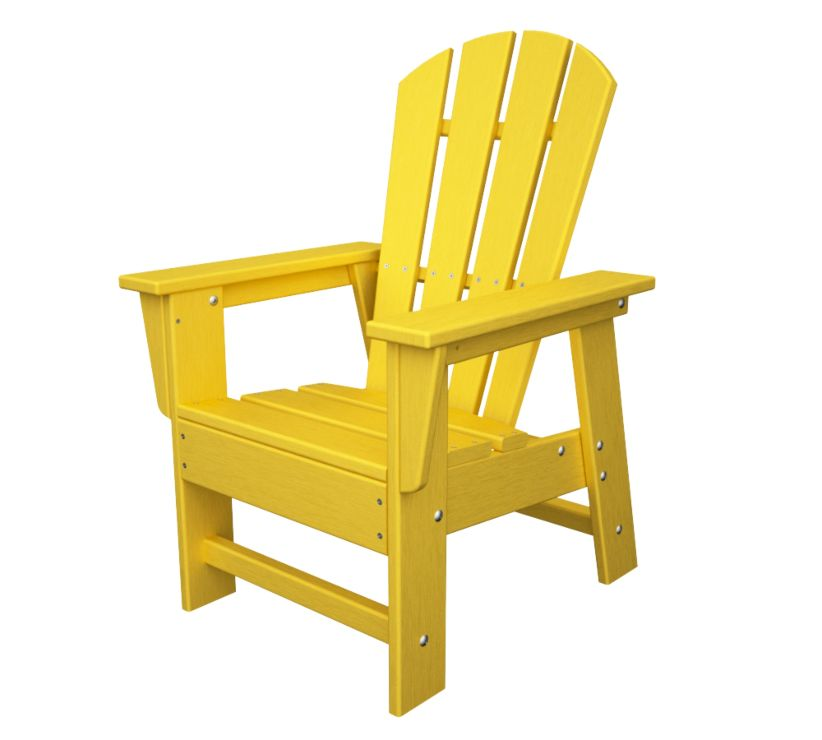 POLYWOOD Child Plastic Adirondack Chair