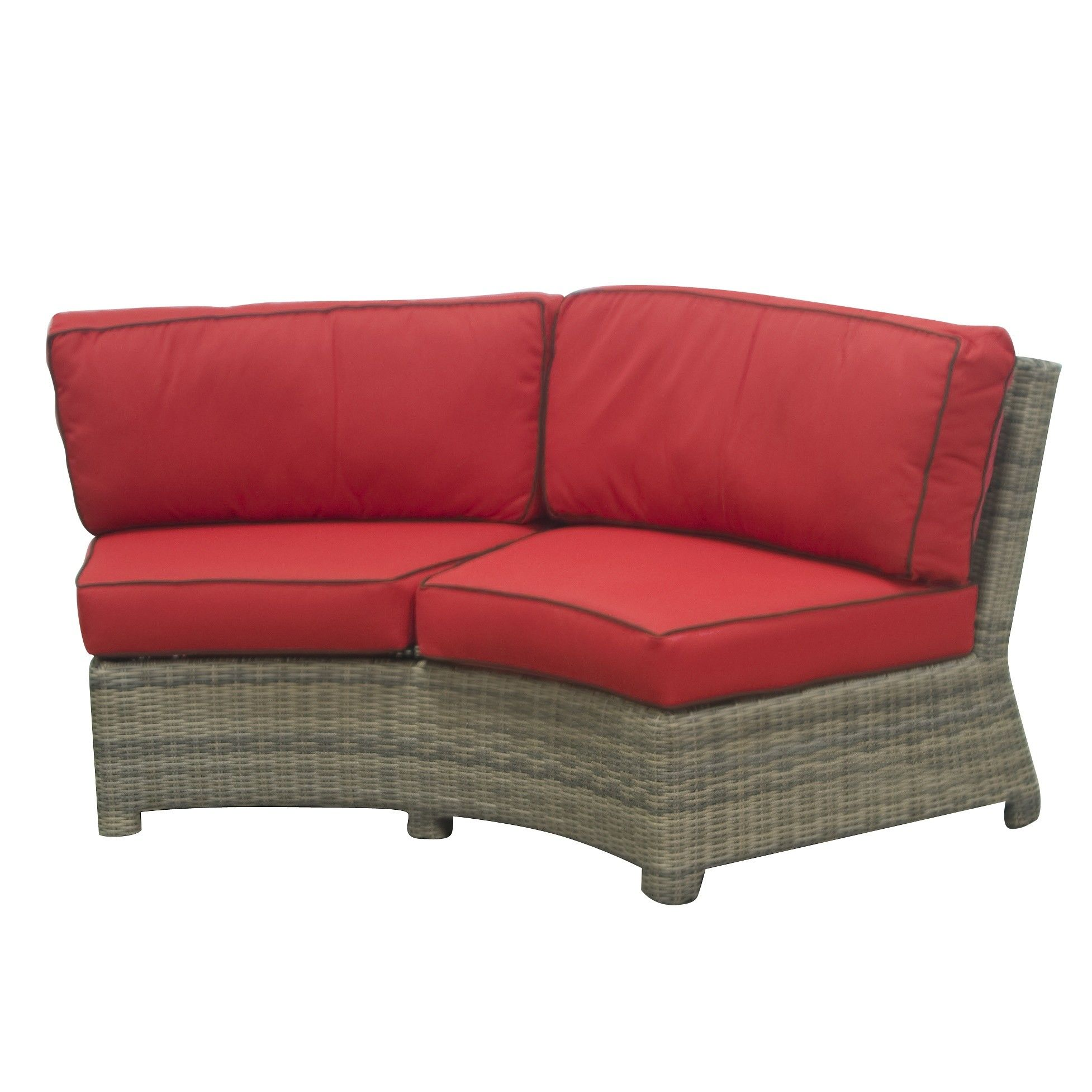 Wicker Curved Sectional Sofa Outdoor Wicker Sectional Couch