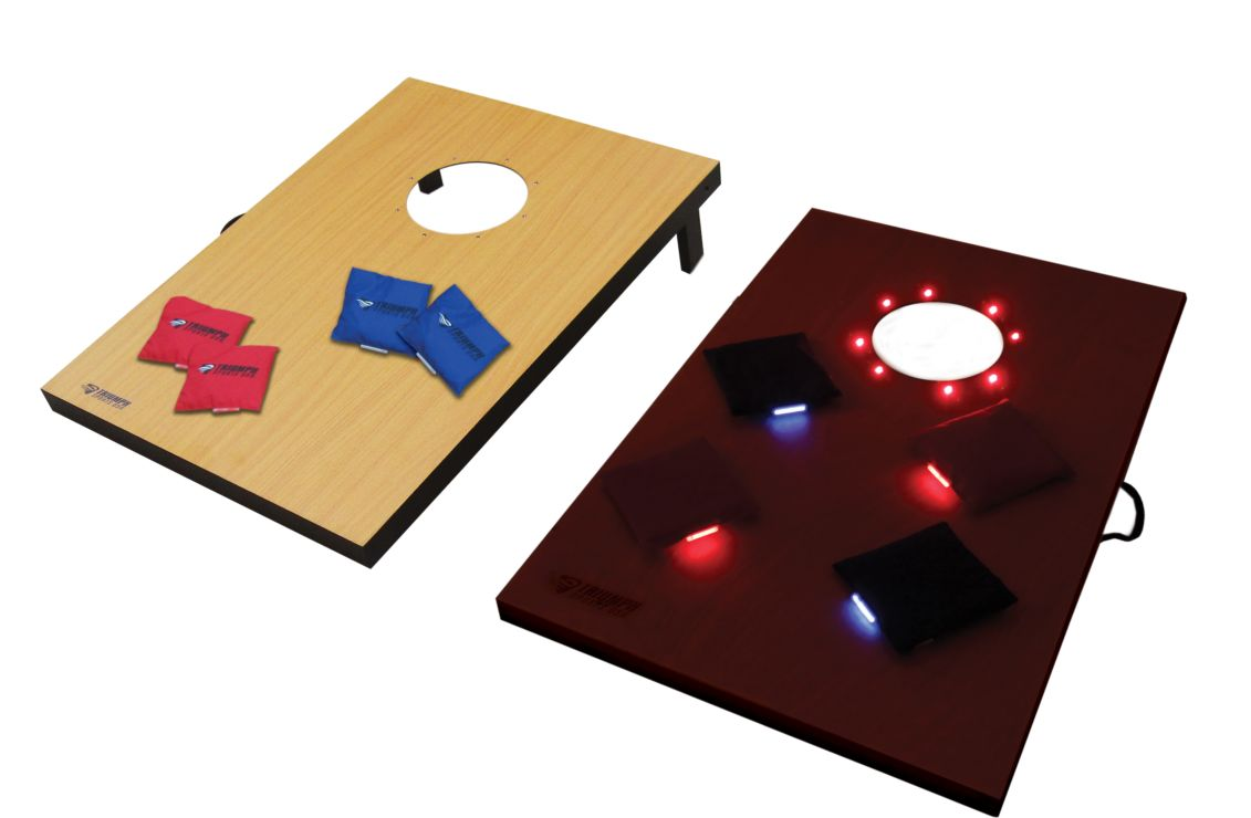 LED Lighted Tournament Bag Toss (Day and Night Boards)