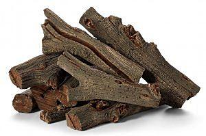 Western Driftwood Outdoor Fire Log Set by HPC