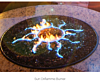Oriflamme Gas Fire Pit Table Tropical Sunscape