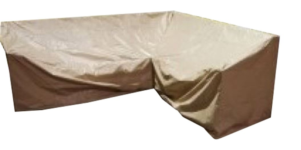 All Weather Outdoor Furniture Cover - 6 Piece Sectional Left Weighted