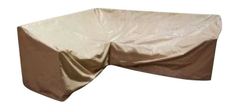 All Weather Outdoor Furniture Cover - 6 Piece Sectional Right Weighted