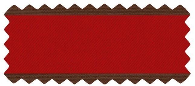 Flagship Ruby w/ Canvas Bay Brown Welt