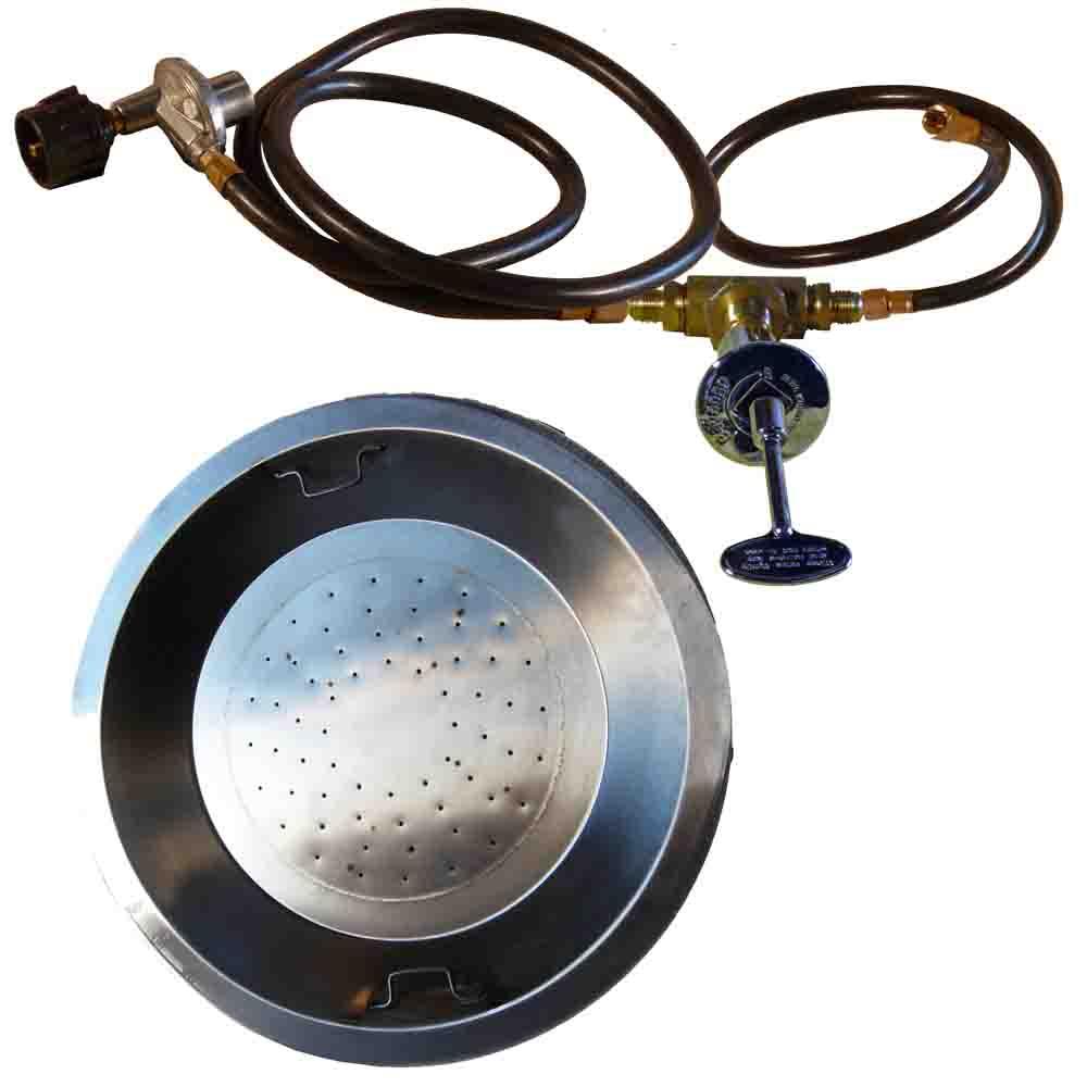 - Propane Fire Pit Burner Kit Drop In Fire Pit Kit