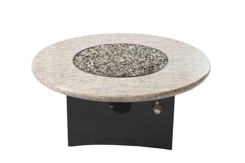 Oriflamme Optima/Giallo Santo Fire Table