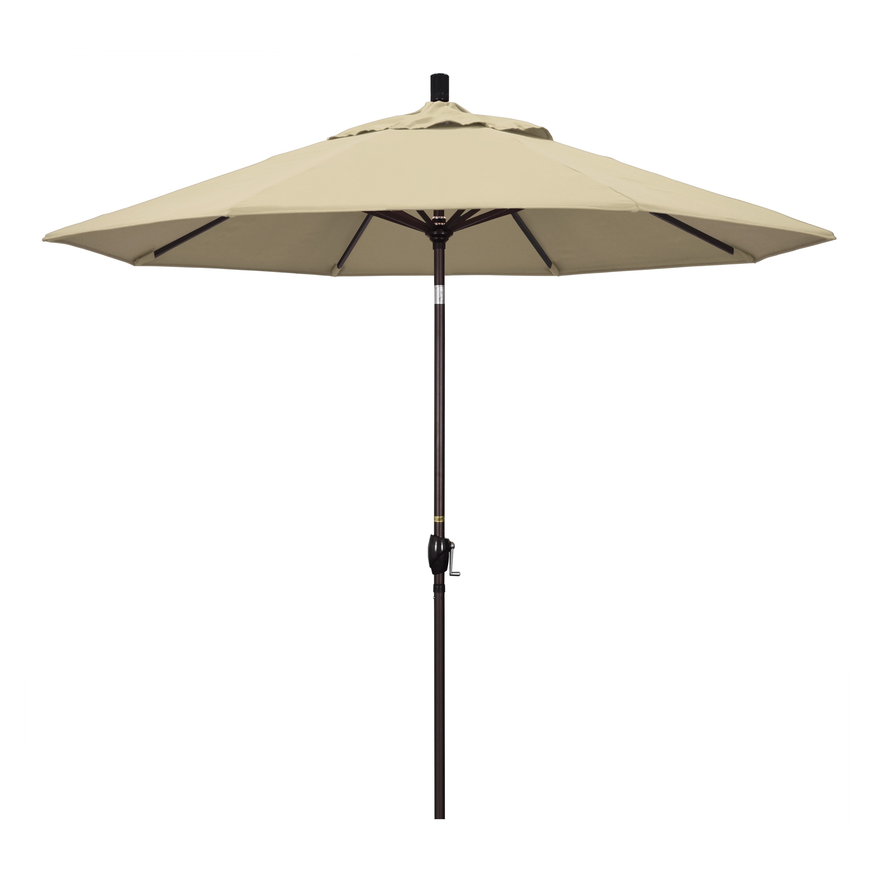 9' Market Style Outdoor Umbrella with Wind Vent Antique Beige