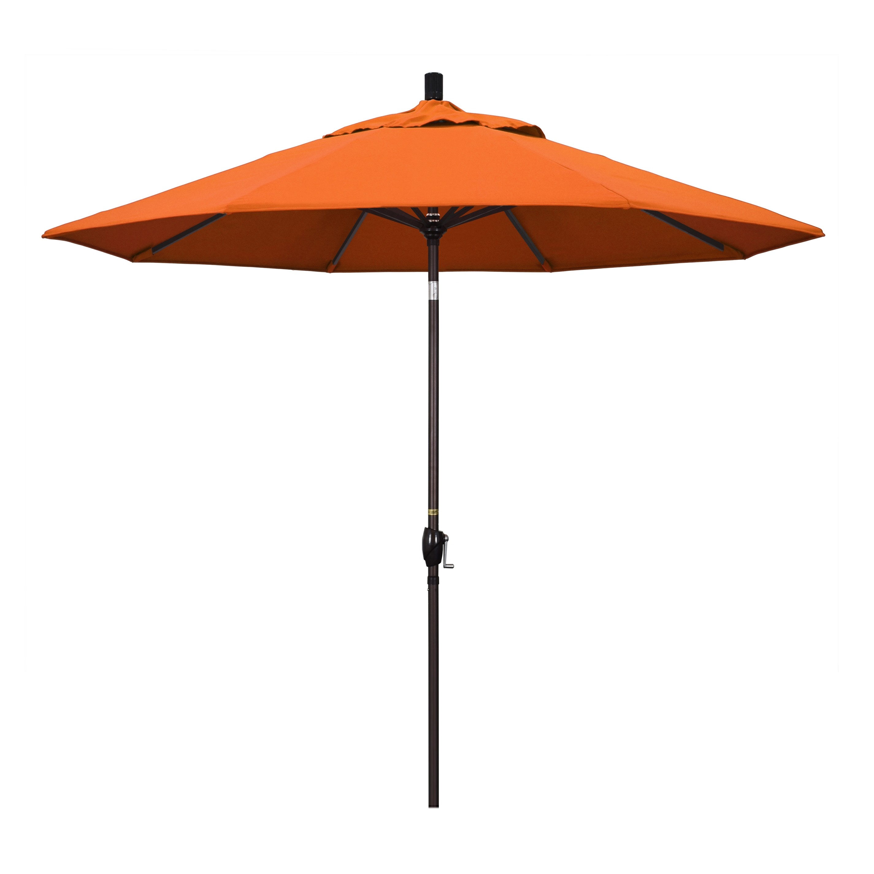 9' Market Style Outdoor Umbrella with Wind Vent Canvas Tuscan