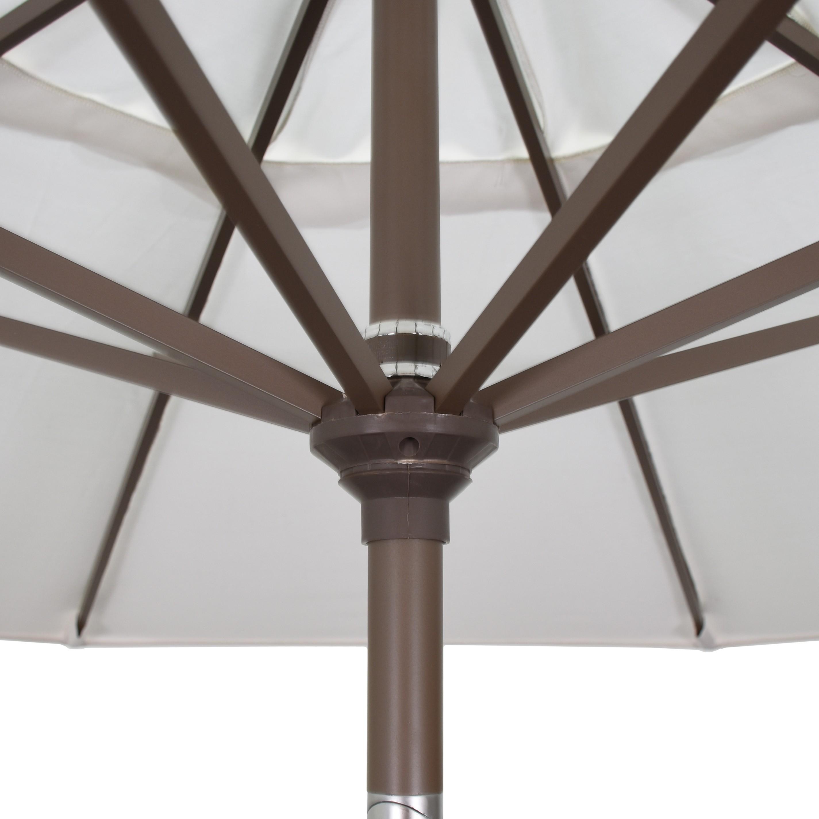 9' Market Style Outdoor Umbrella with Wind Vent Cabana Regatta