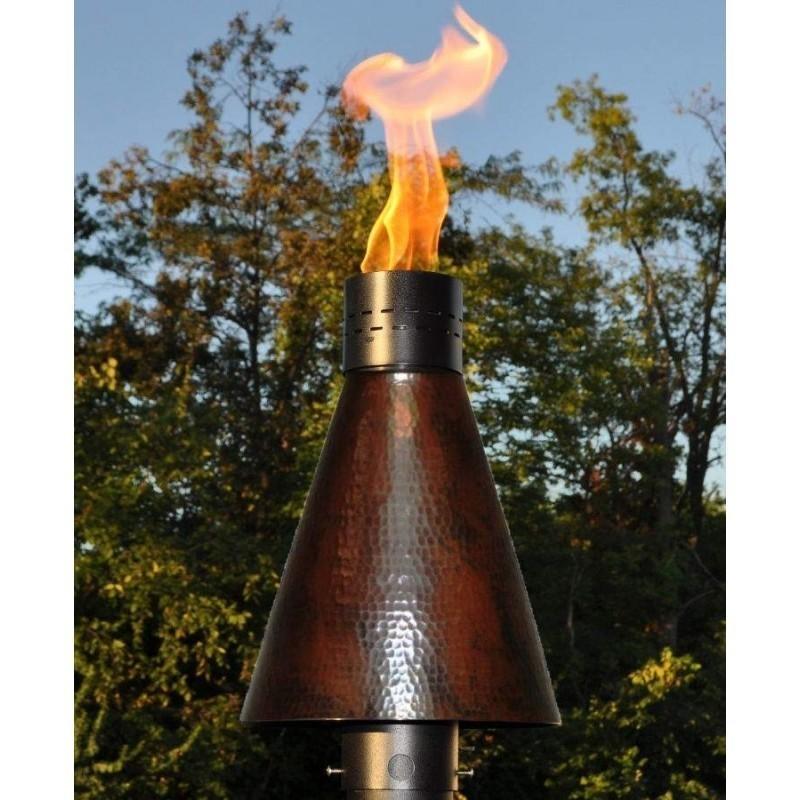 HPC Tiki Torch - Hammered Copper