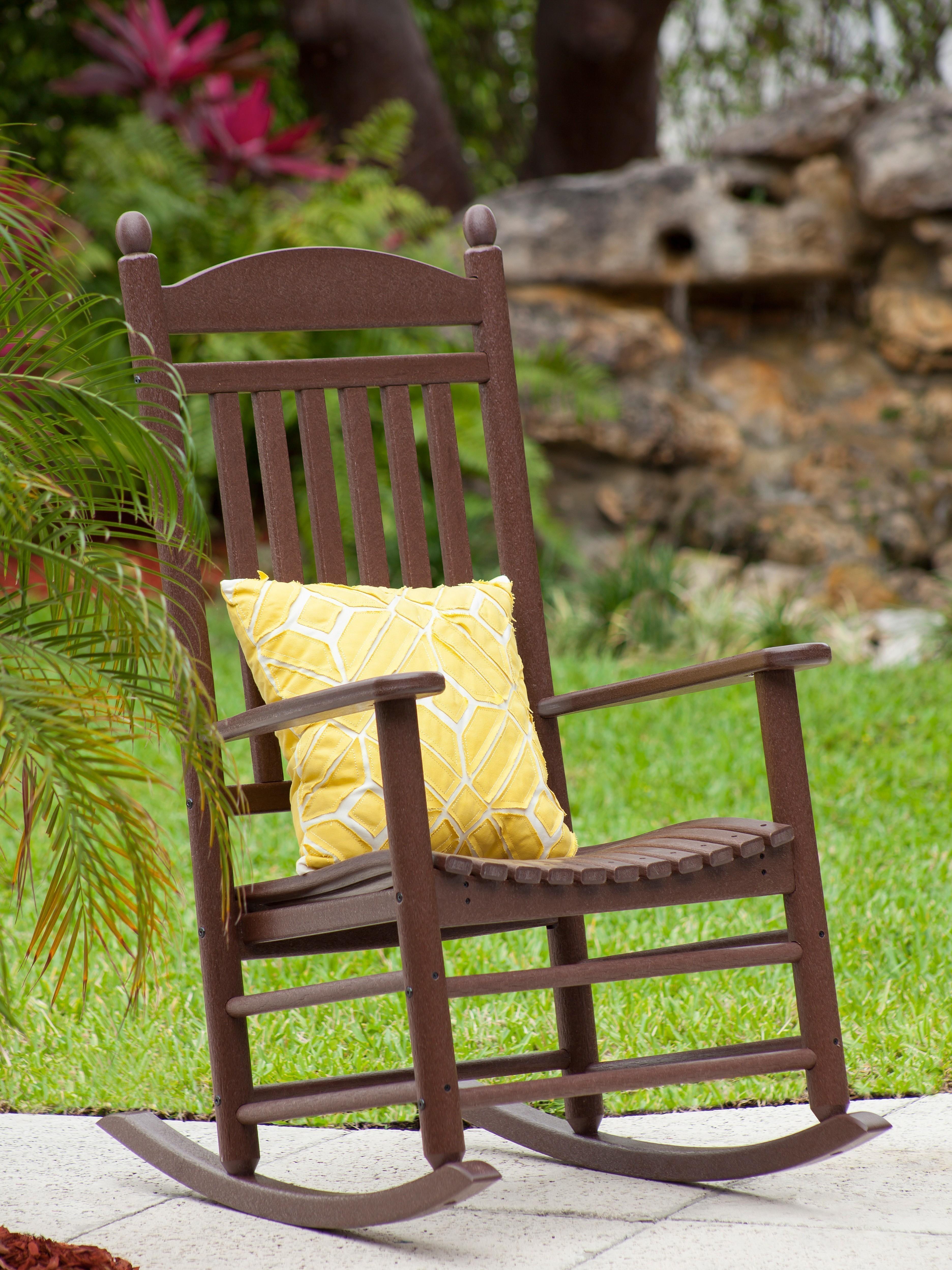 jefferson recycled plastic rocker chair