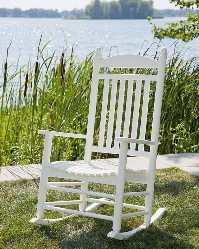 Jefferson Rocker Lifestyle (White)