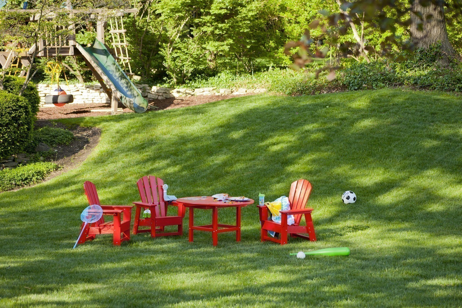 Polywood Child Plastic Adirondack Chair