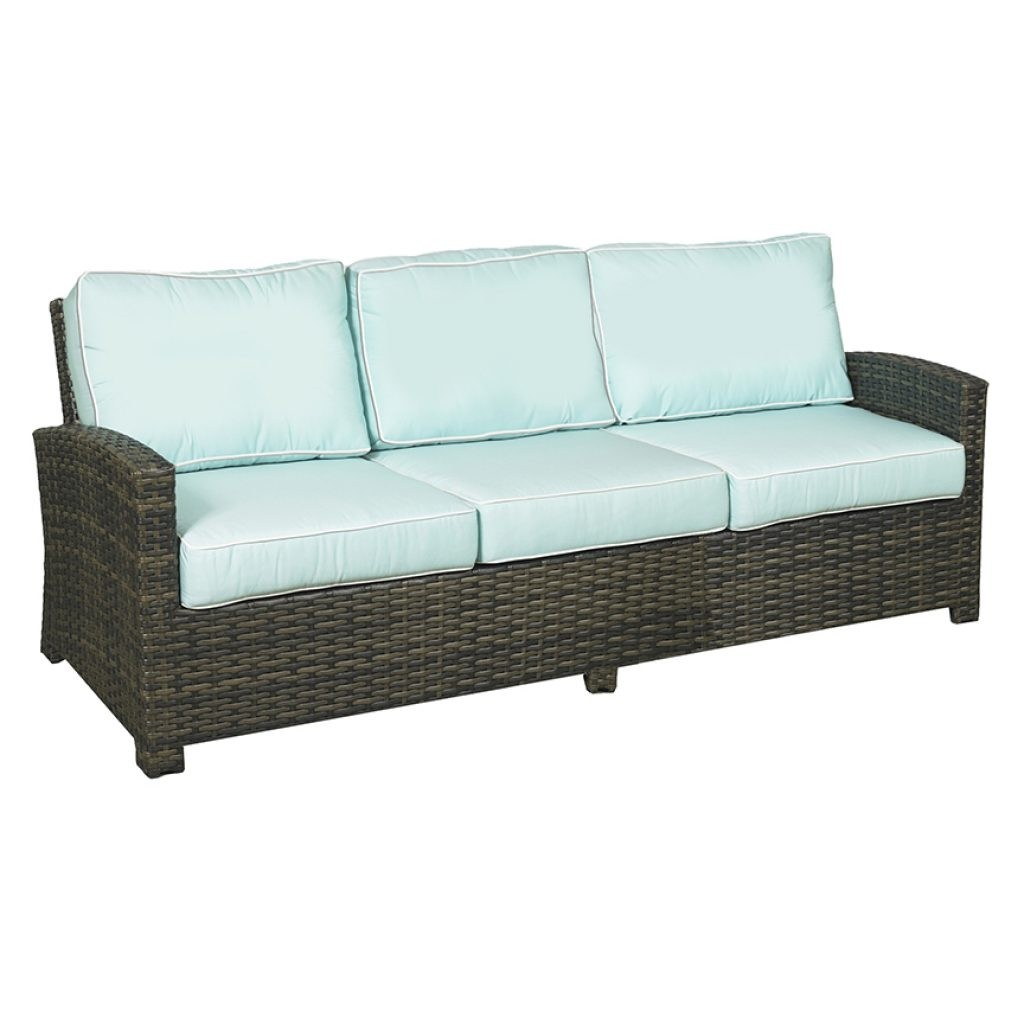 Lakeside Wicker Deep Seating 3 Seater Sofa
