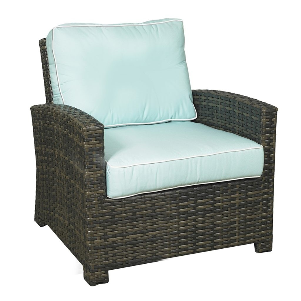 Lakeside Wicker Club Chair