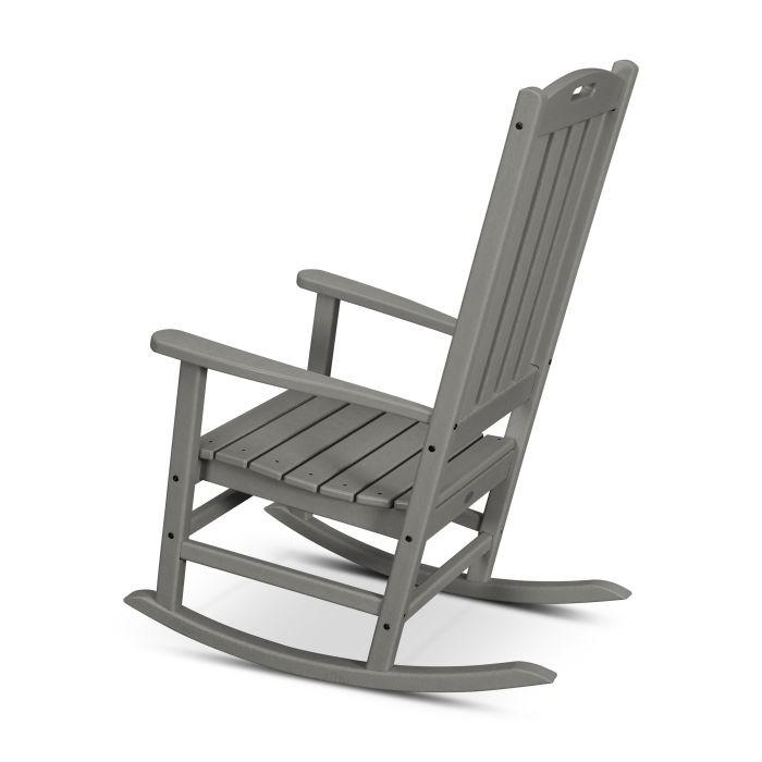 POLYWOOD® Nautical Porch Rocking Chair