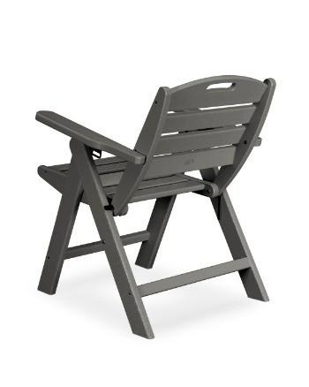 POLYWOOD® Nautical Lowback Chair