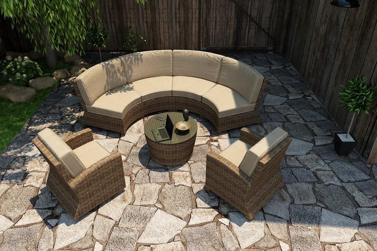 Bainbridge Club Chair Lifestyle (SSpectrum Mushroom w/ Spectrum Sand Welt)