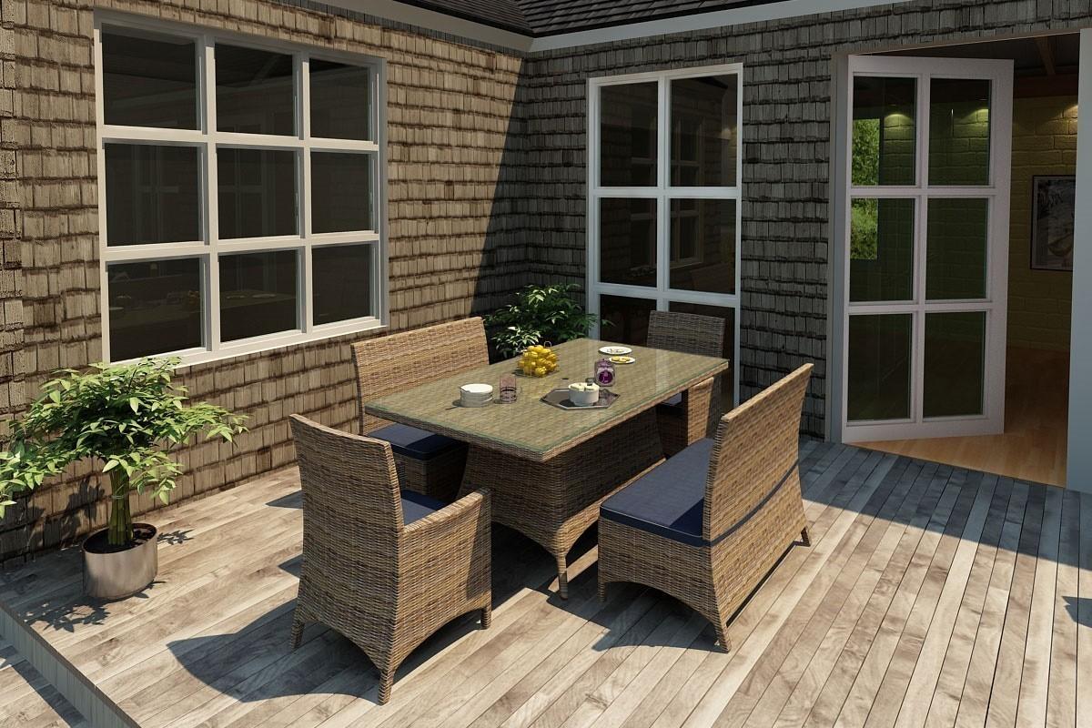 "Bainbridge 72"" Dining Table Lifestyle"