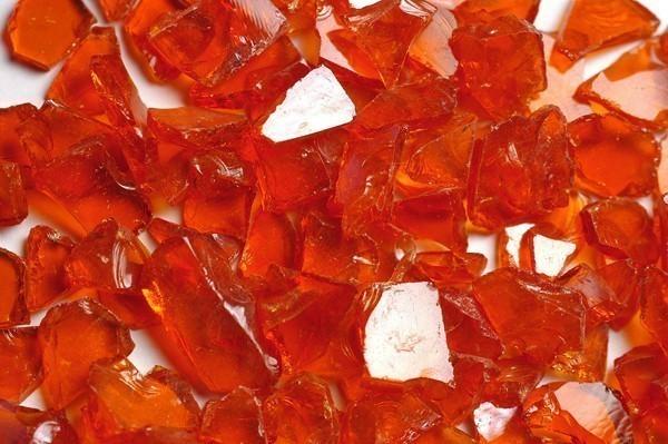 Fire Pit Fireplace Fire Glass Orange