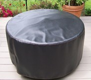 Bainbridge Outdoor Club Chair Gas Fire Table Chat Set