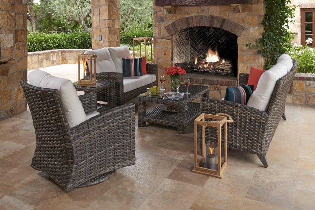 Portofino Wicker 3 Seater Sofa