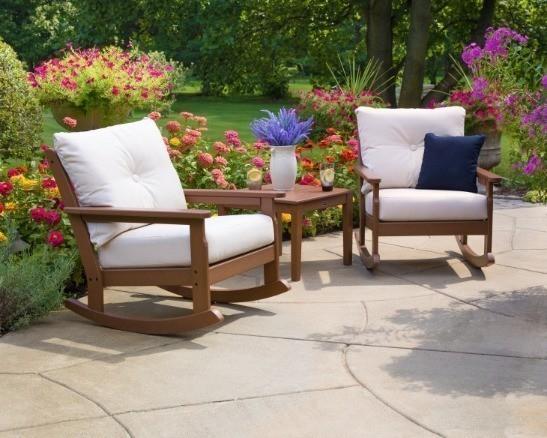 POLYWOOD® Vineyard Deep Seating Rocking Chair