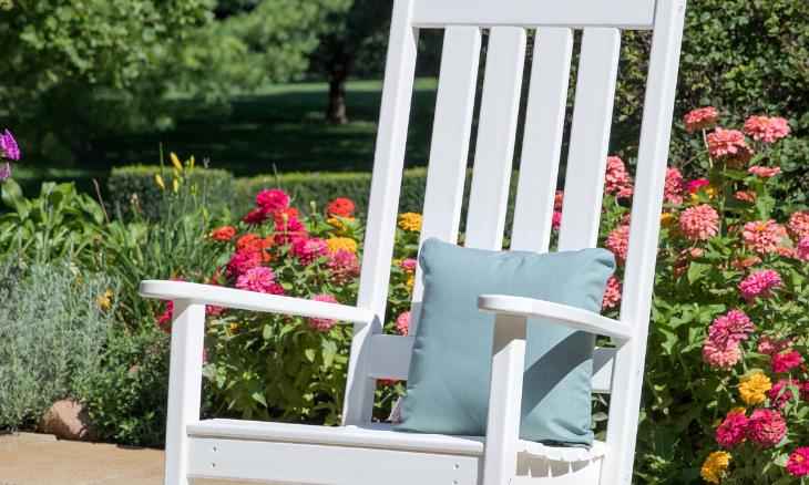 POLYWOOD® Vineyard Porch Rocking Chair