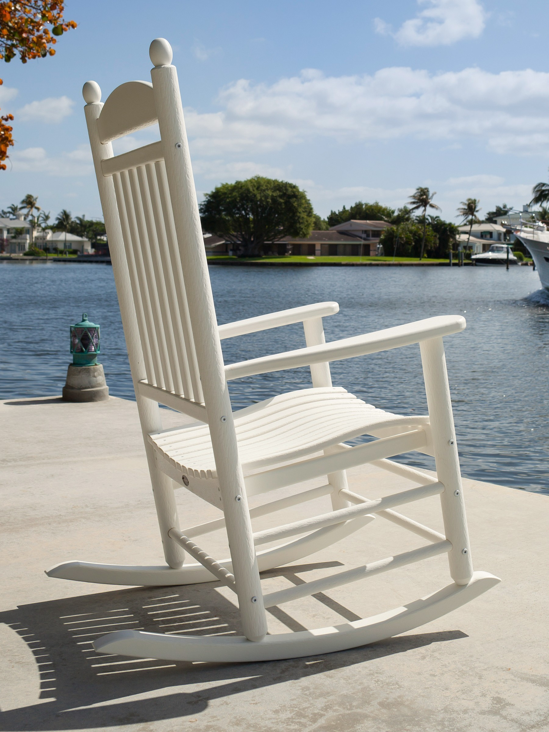 jefferson recycled plastic rocker chair waterfront live