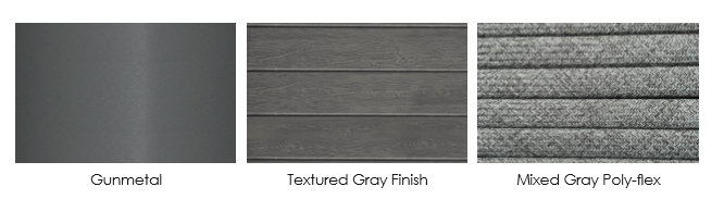 stylish finish samples for the Palm Cay Collection - Frame Rope