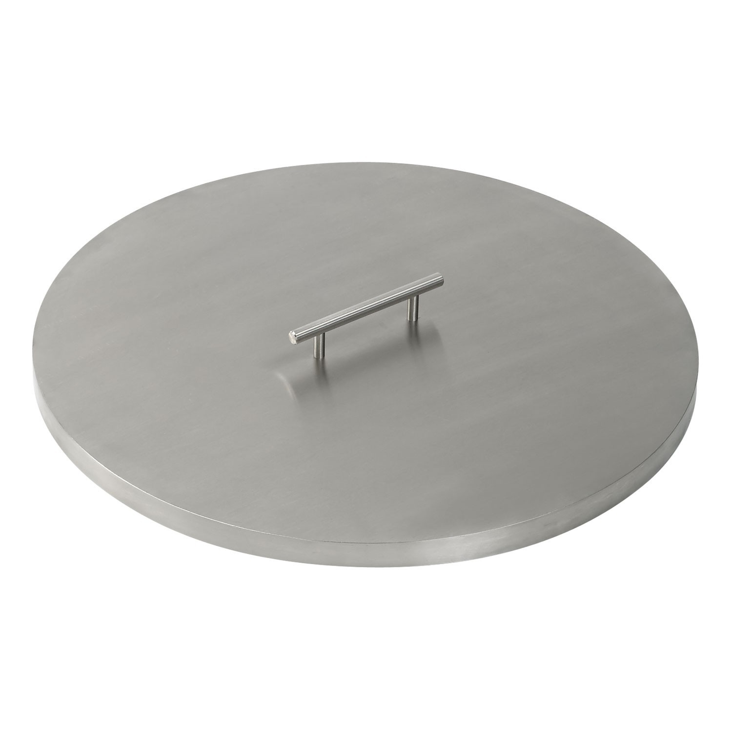 Round Stainless Steel Fire Pit Cover Lid