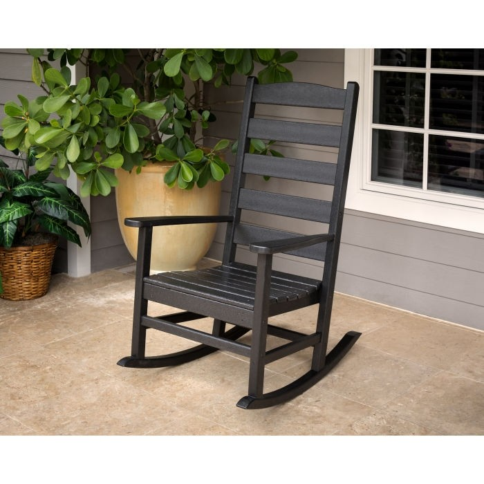 Polywood Shaker Porch Rocking Chair